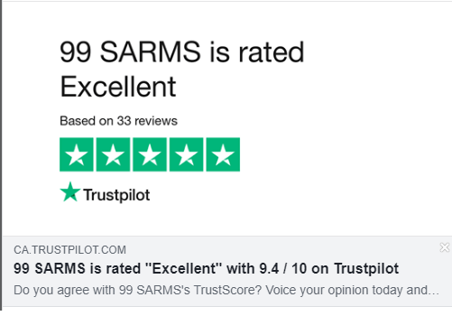 99 SARMS Reviews